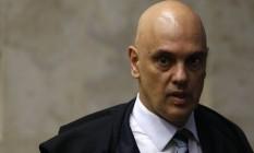 O ministro Alexandre de Moraes é o relator da ação Foto: Jorge William / Agência O Globo