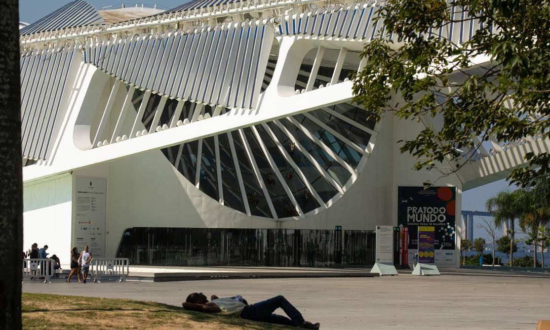 A construção teve o apoio da Fundação Roberto Marinho e teve custo total de cerca de R$ 230 milhões Foto: Brenno Carvalho / Agência O Globo