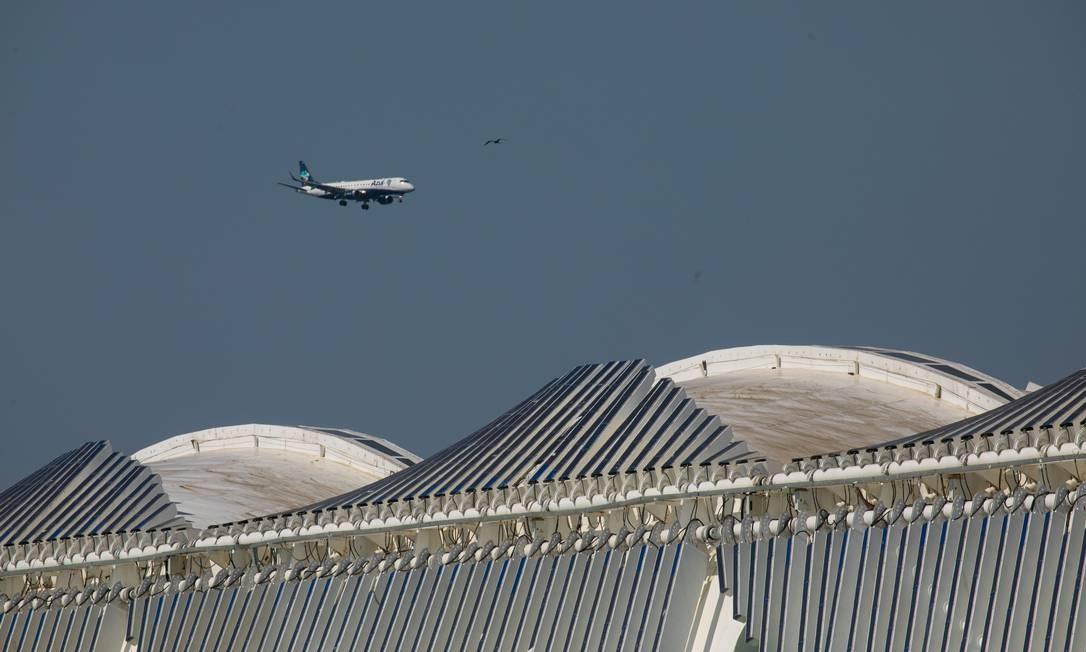 O Museu do Amanhã é um projeto do arquiteto espanhol Santiago Calatrava, erguido na Praça Mauá, zona portuária da cidade Foto: Brenno Carvalho / Agência O Globo