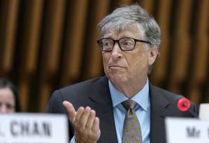 Bill Gates criticou tese de divisão de gigantes da internet Foto: Martialk Trezzini / AP