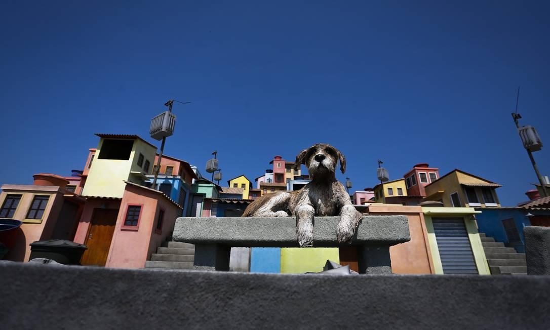 Espaço Favela. Rock in Rio 2019 será realizado de 27 a 29 de setembro, e 3 a 6 de outubro, na Cidade do Rock, montada no Parque Olímpico Foto: Pablo Jacob / Agência O Globo
