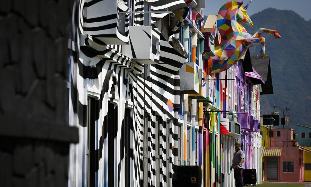 A Rock Street já trouxe à Cidade do Rock temáticas como a energia do jazz de New Orleans e os ritmos e cores da África Foto: Pablo Jacob / Agência O Globo