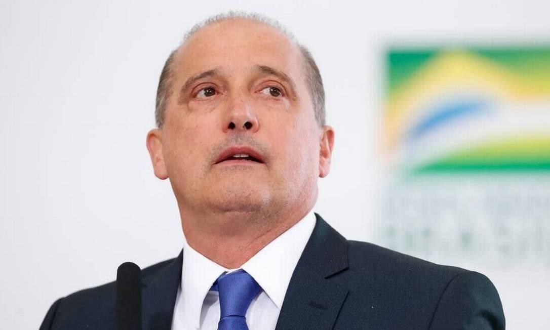 O ministro da Casa Civil, Onyx Lorenzoni Foto: Divulgação -Alan Santos/Presidência
