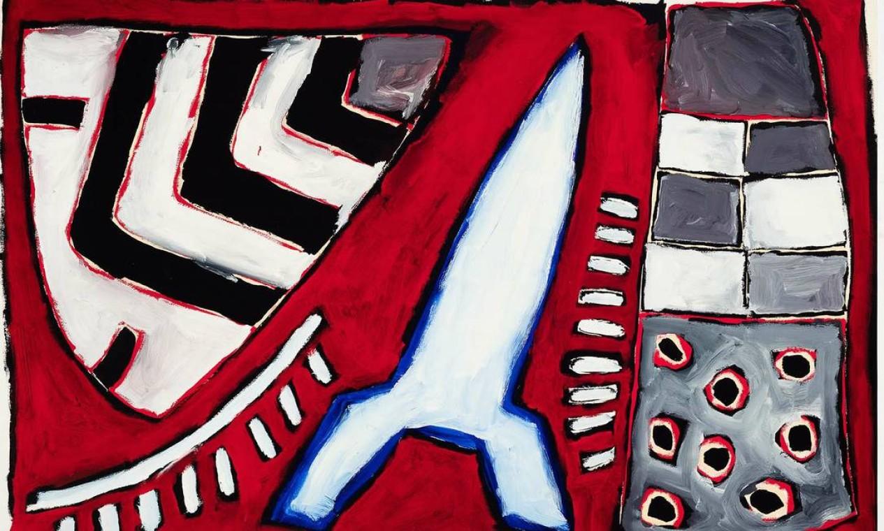 Leonilson. Morto aos 36 anos, em 1993, o artista cearense radicado em São Paulo tem sua produção revista pela ótica da amizade, através das obras da coleção de Antonio Dias (1944-2018), expostas na Pinakotheke (2537-7566). Com 38 desenhos e pinturas, a mostra foi idealizada por Dias, ainda em vida, e concluída por sua viúva, Paola Chieregato, e pelo marchand Max Perlingeiro Foto: Jaime Acioli/Divulgação