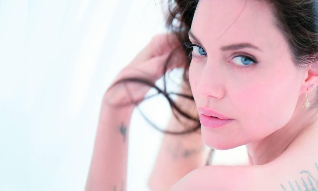 Angelina Jolie para Guerlain Foto: Divulgação