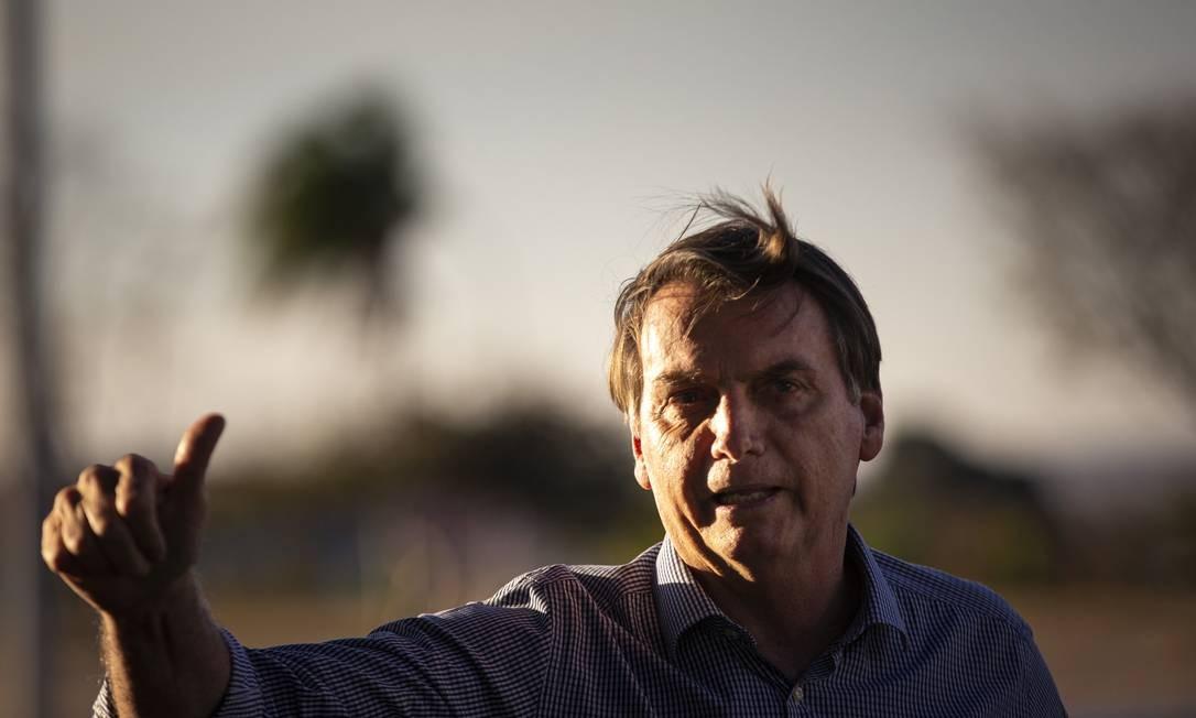 O presidente comemorou a redução da taxa Selic Foto: Daniel Marenco / Agência O Globo