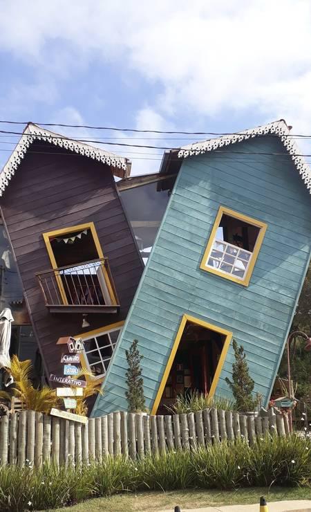 A Casa Torta, em Bichinho Foto: Carolina Mazzi