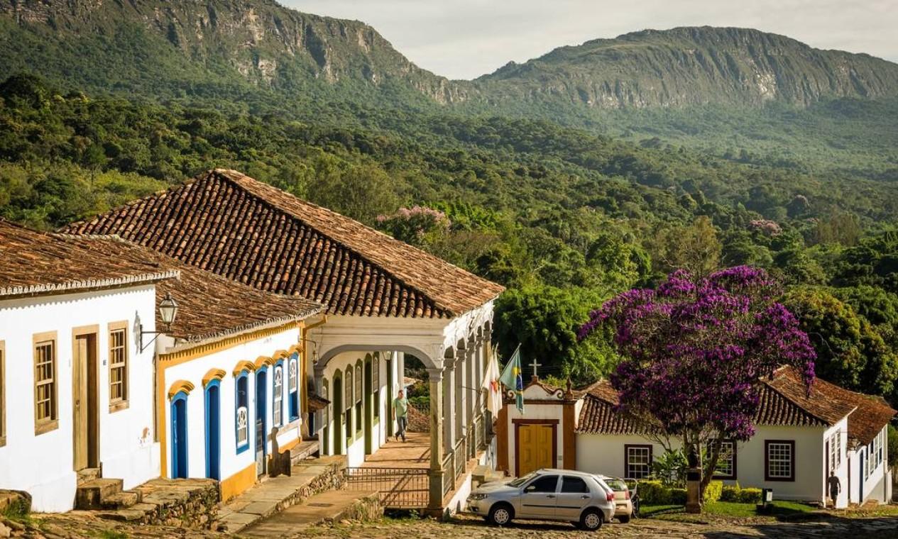 Serra de São José e o Centro Histórico Foto: Alberto Lopes / Divulgação