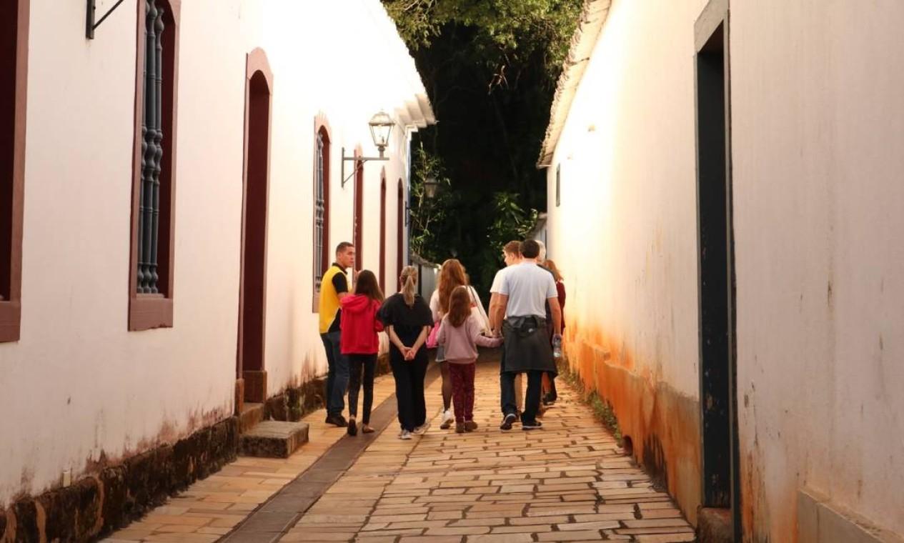 Passeio guiado pelos becos da cidade Foto: Divulgação