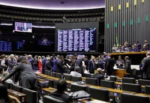 Câmara aprova projeto que flexibiliza regras de partidos Foto: Agência Câmara