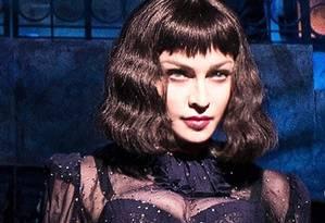 Madonna em uma das poucas imagens divulgadas da turnê de 'Madame X' Foto: reprodução/instagram