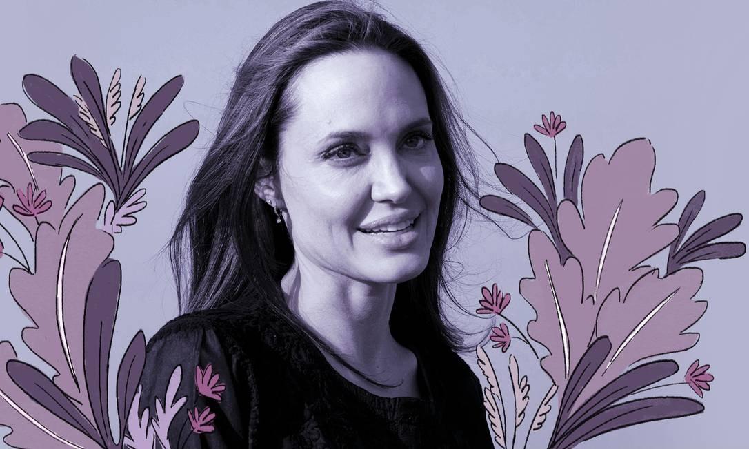 A atriz Angelina Jolie Foto: Divulgação