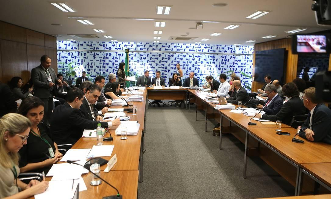 A proposta foi redigida pela deputada Margarete Coelho (PP-PI) em conjunto com Paulo Teixeira (PT-SP) Foto: Jorge William / Agência O Globo