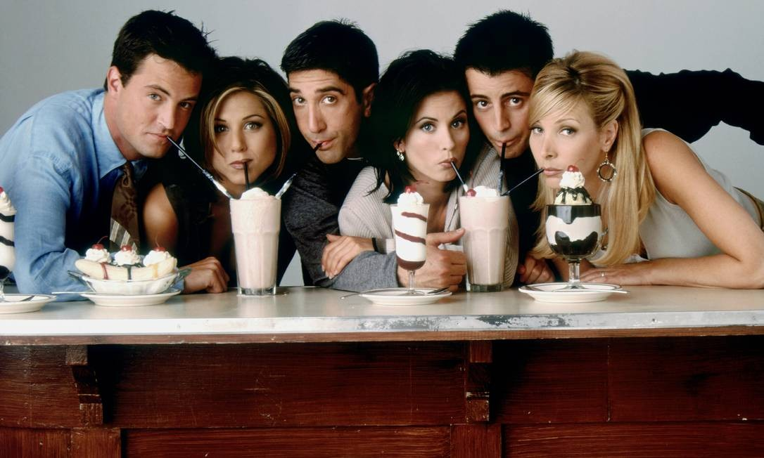 'Friends': após completar 25 anos, série continua sendo disputada por cifras astronômicas por plataformas de streaming Foto: Divulgação