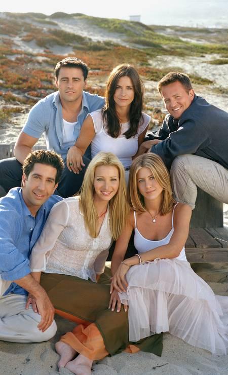 'Friends': ao servir de modelo para entrada na vida adulta, série continua popular mesmo entre adolescentes que não conheceram os anos 1990 Foto: Divulgação