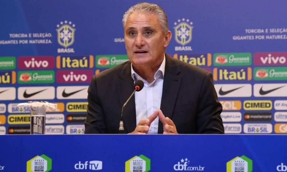 Resultado de imagem para Tite convoca seleção brasileira para amistosos com três novidades