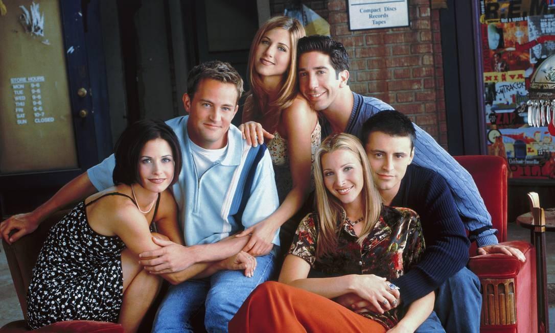A série de TV 'Friends' completa 25 anos Foto: Divulgação