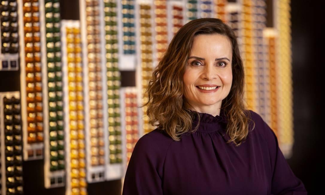 Cláudia Leite fala como o Centro de Reciclagem da Nespresso se dedica à reciclagem das cápsulas Foto: Kiko Ferrite/Divulgação