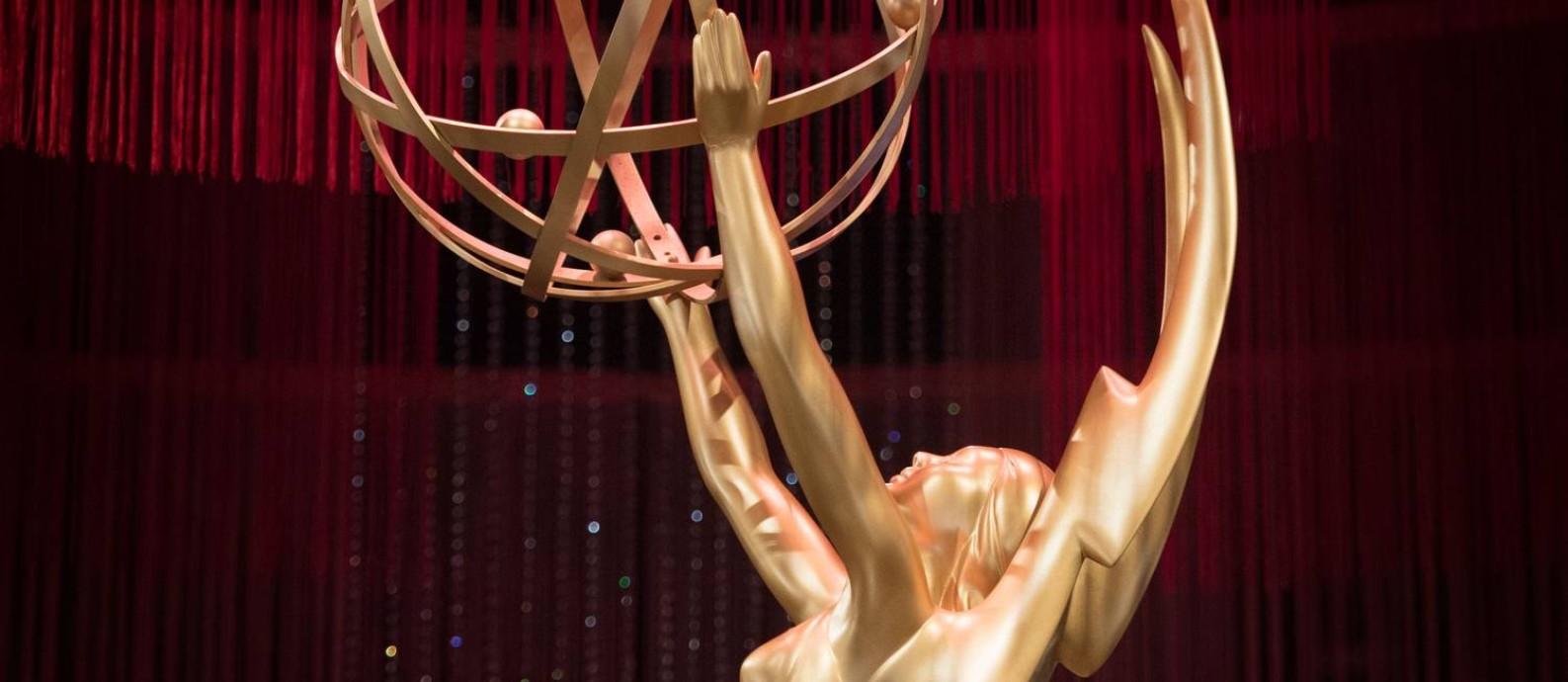 Emmy Awards: 71ª edição do prêmio da TV americana acontece neste domingo em Los Angeles Foto: MARK RALSTON / AFP