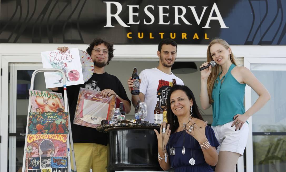 NIT Niteroi (RJ) 17/09/2019 - Tres Anos do Reserva Cultural : Festival da Primavera , Sao Domingos Niteroi RJ , Fotos : Fabio Guimaraes / Agencia O Globo. Foto: Fábio Guimarães / Agência O Globo
