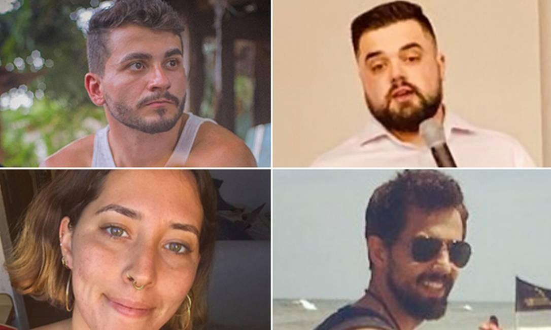Os quatro brasileiros que participarão da Youth Climate Summit, da ONU, neste sábado, em Nova York Foto: Arquivo pessoal