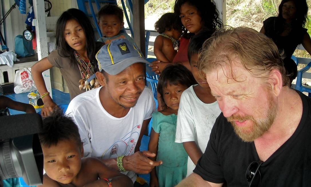 Acadêmico viveu por oito anos entre os Pirahã, no Amazonas. Foto: Divulgação