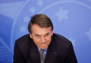 Presidente Jair Bolsonaro Foto: ADRIANO MACHADO / REUTERS / 20-09-2019