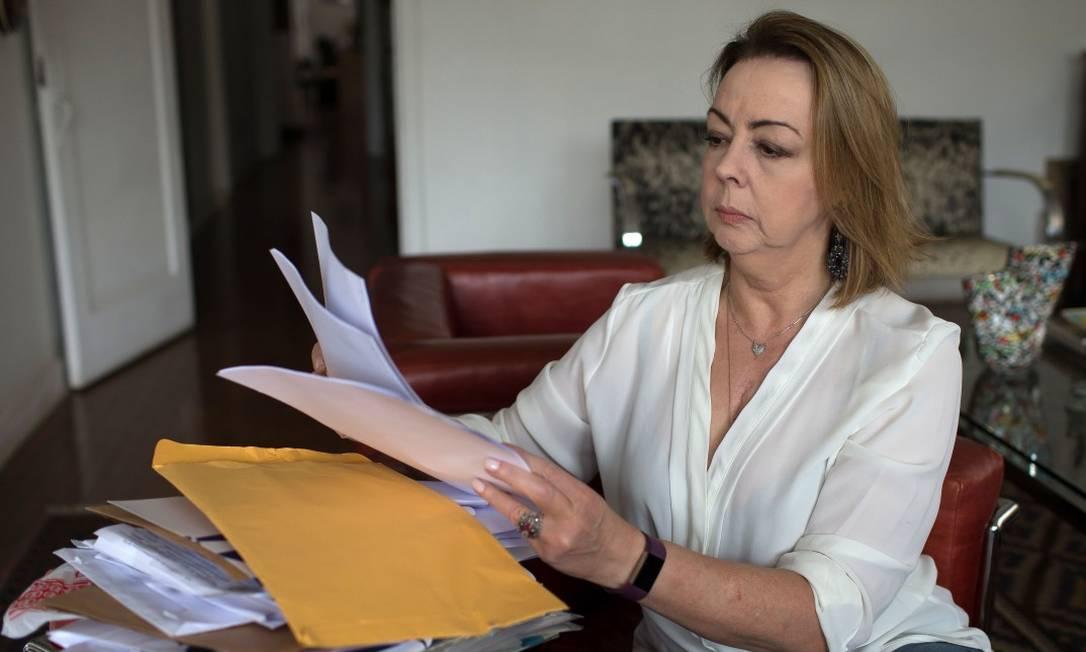 Graça Rodemburg gastou R$ 102 mil para tratar doença cardíaca, mas recebeu apenas R$ 21 mil de reembolso Foto: Edilson Dantas / Agência O Globo