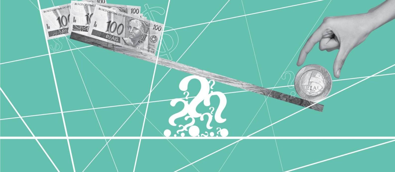 O sistema tributário brasileiro está na contramão da maioria dos países e ainda não há indicação de que a reforma que começa a ser discutida em Brasília será capaz de alterar esse rumo Foto: Editoria de Arte