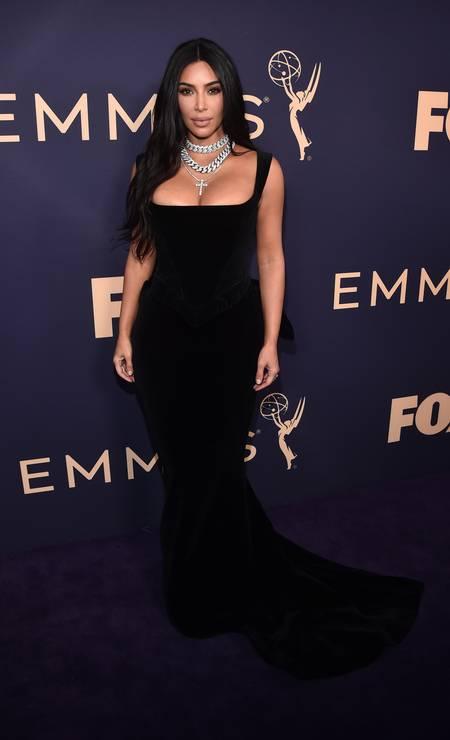 Kim Kardashian, de Vivienne Westwood Foto: Alberto E. Rodriguez / Getty Images