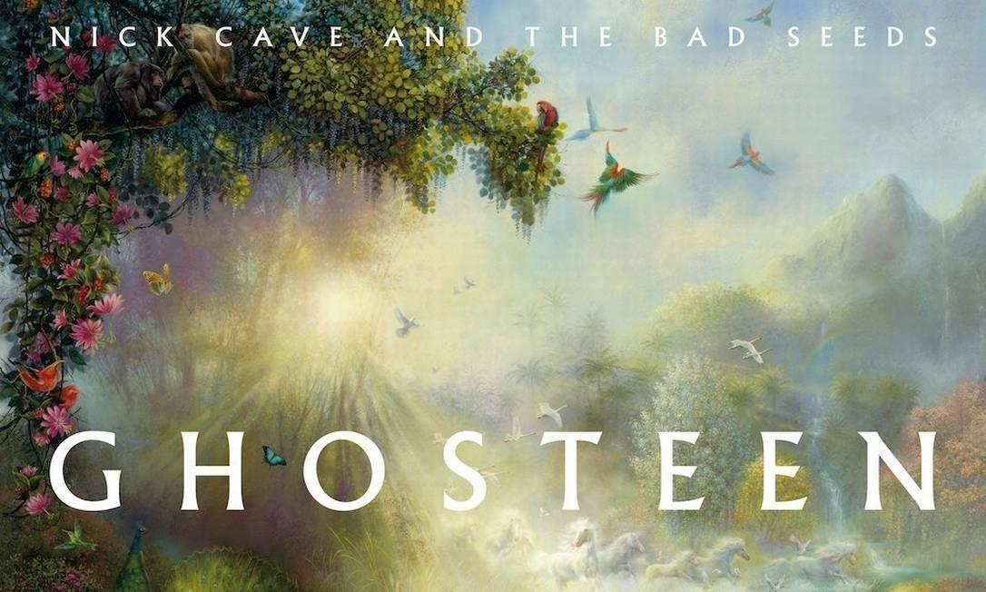 Capa do álbum 'Ghosteen', de Nick Cave Foto: Reprodução