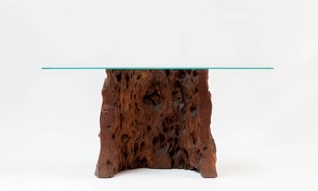 Zanine Caldas: mesa Foto: Divulgação/Andre Nazareth