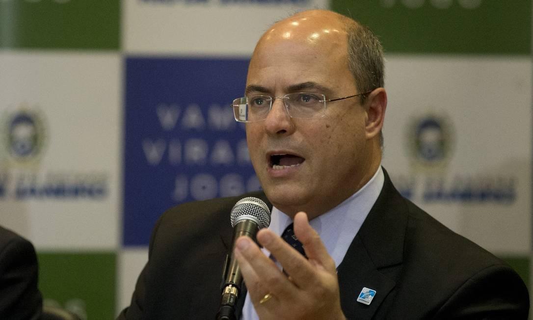 Governador afirmou que tem reunião marcada com ministro da justiça na próxima quarta-feira Foto: Márcia Foletto / Agência O Globo