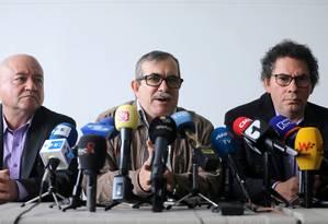 Rodrigo Londono assumiu responsabilidade pelos sequestros em nome das FARC Foto: LUISA GONZALEZ / REUTERS