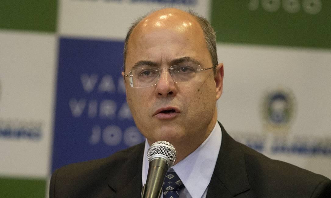 O governador Witzel em imagens - Jornal O Globo