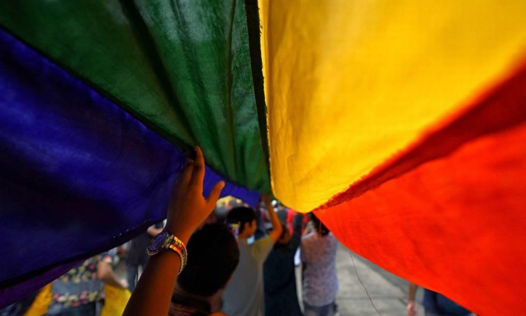 Bandeira do movimento LGBTI+ Foto: Getty Images
