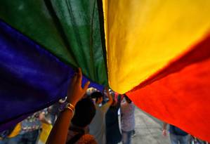 Bandeira do movimento LGBT+ Foto: Getty Images