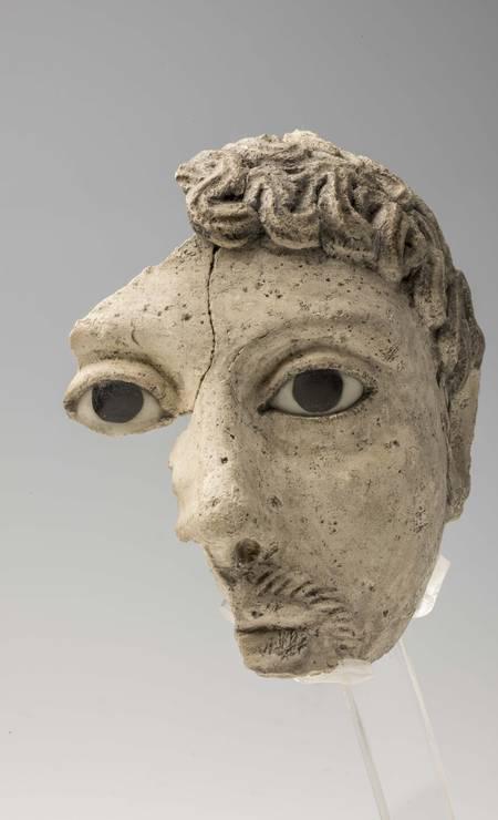 Máscara de múmia Procedência desconhecida, Período Greco-Romano (332 a.C.-395 d.C.) Foto: Divulgação/Museo Egizio