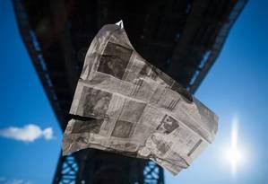 Jornal: artigo do NYT alerta para ataques a profissionais Foto: Joshua Bright/NYT