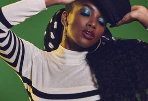 Cantora Iza é a nova rainha de bateria da Imperatriz Foto: Divulgação