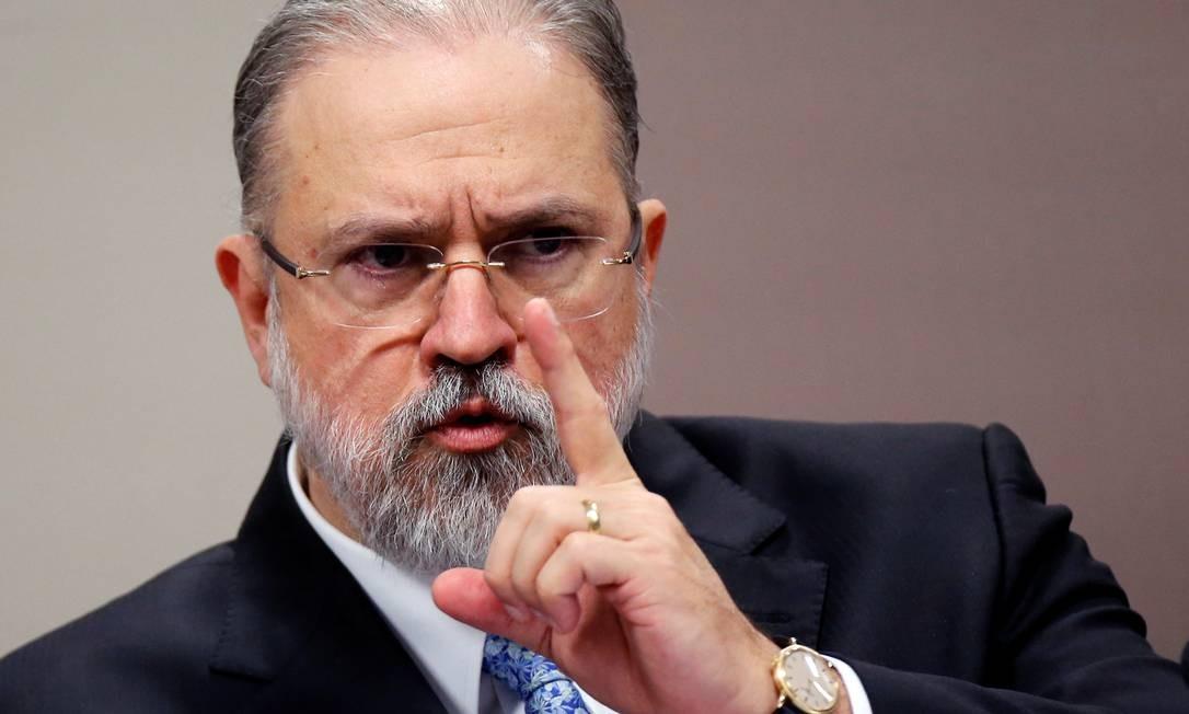 Subprocurador Augusto Aras em sabatina na CCJ do Senado Foto: ADRIANO MACHADO / REUTERS