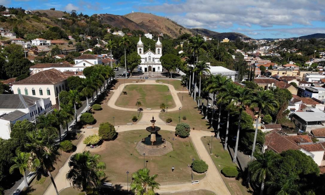 Praça Barão de Campo Belo, em Vassouras Foto: Divulgação/Diego Mendes