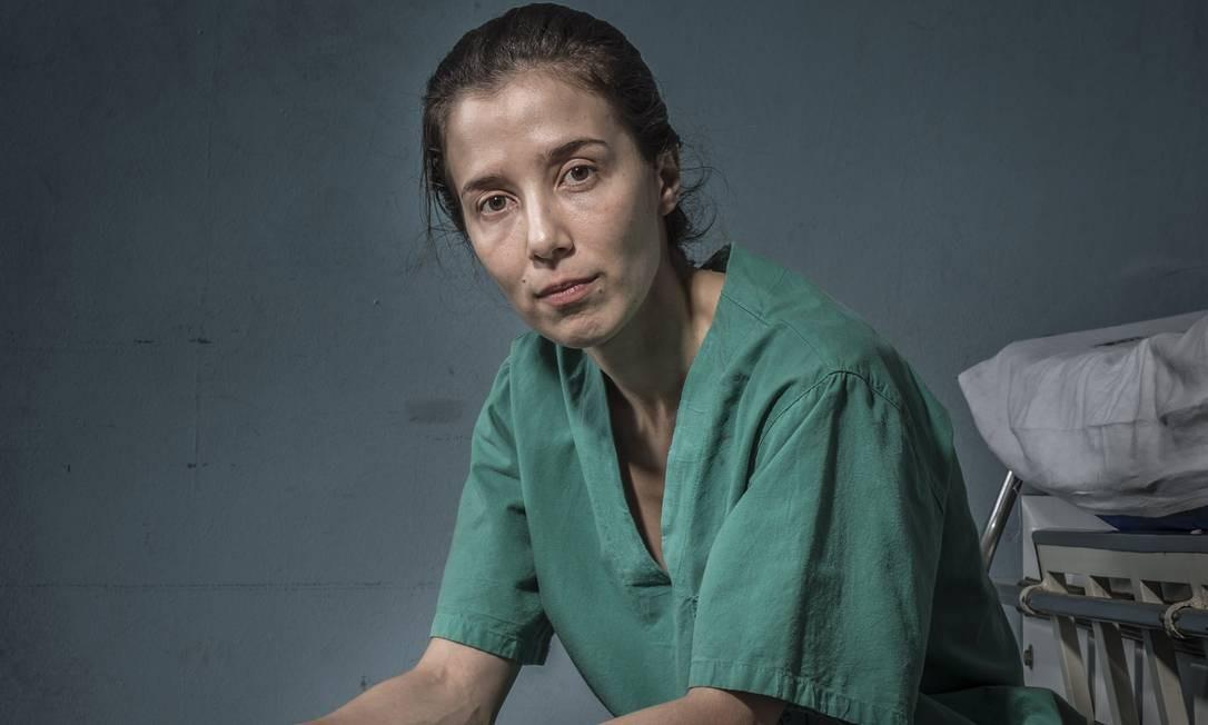 Marjorie Estiano está pela primeira vez na lista de indicados ao prêmio Emmy Internacional Foto: Mauricio Fidalgo / GLOBO / MAURICIO FIDALGO