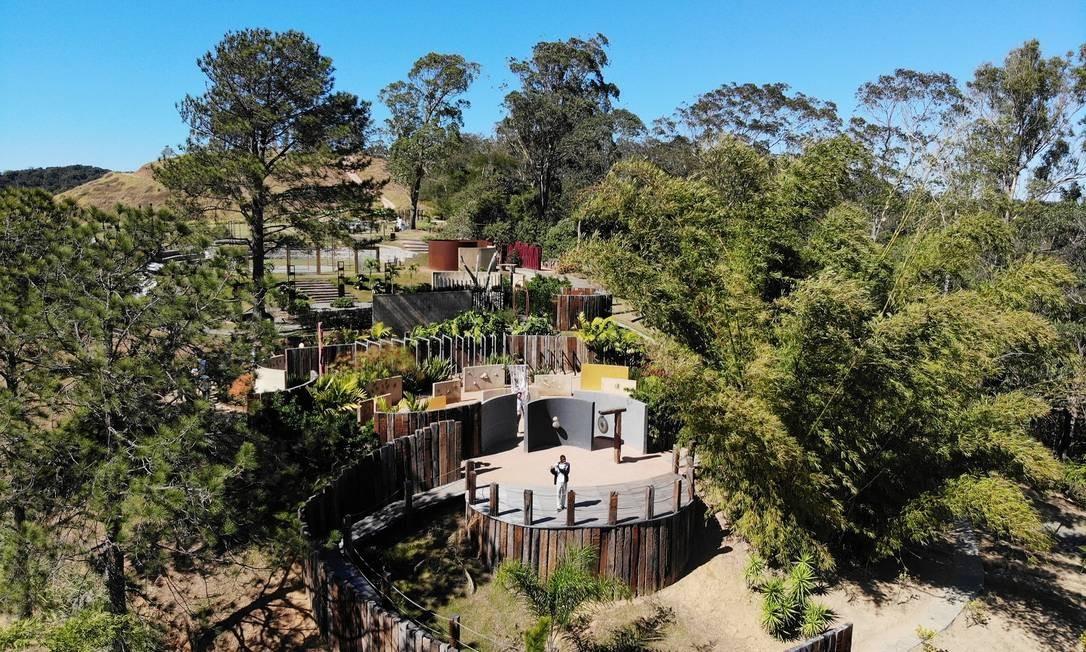 Experiências sensoriais e contato com a natureza no Uaná Etê Foto: Diego Mendes / Foto de divulgação/Diego Mendes