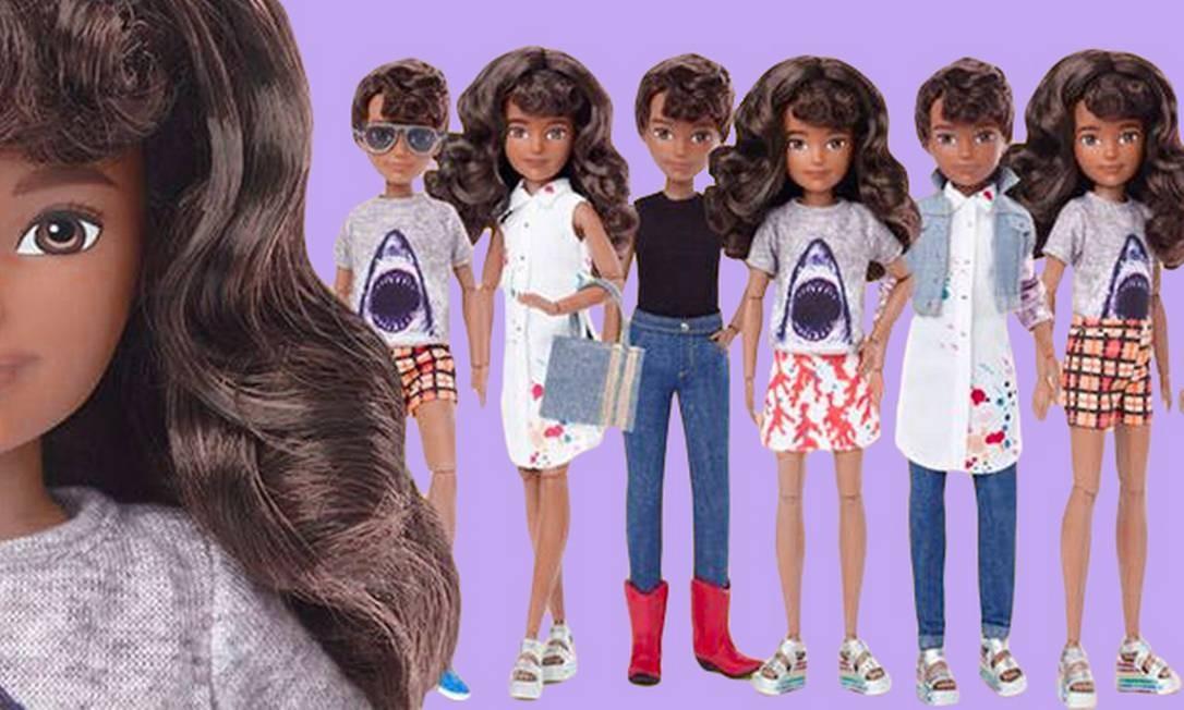 """A linha """"Mundo Criável"""" da Mattel Foto: Divulgação/Mattel"""