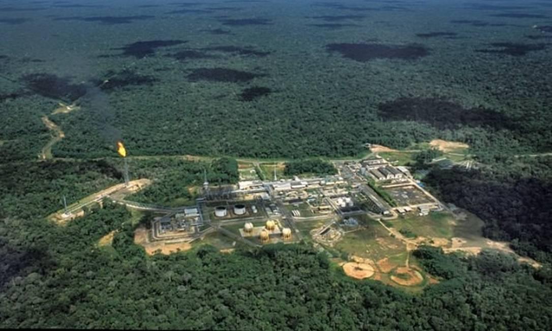 Bacia Petrolífera de Urucu, no Amazonas Foto: Divulgação/Petrobras