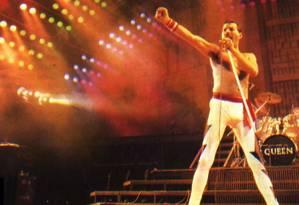 Queen fez show histórico na edição de 1985 Foto: Infoglobo