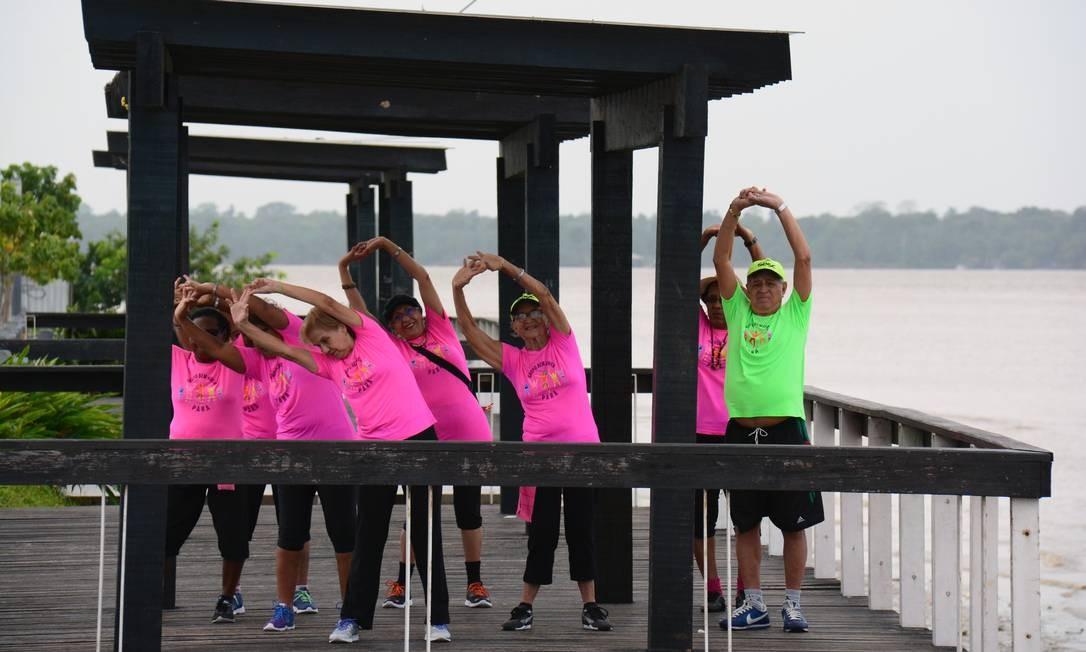 O estímulo às atividades físicas faz parte do dia a dia do Sesc em todo o País Foto: Divulgação/Sesc