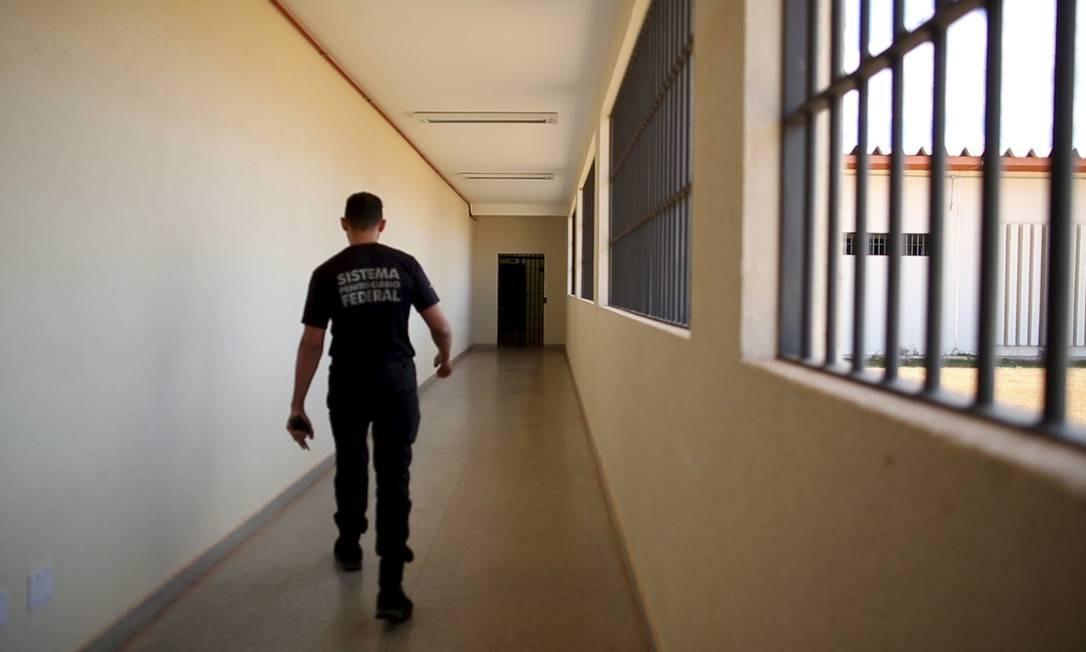 Especial Violência encarcerada - Penitenciária Federal de Brasília Foto: Daniel Marenco / Agência O Globo