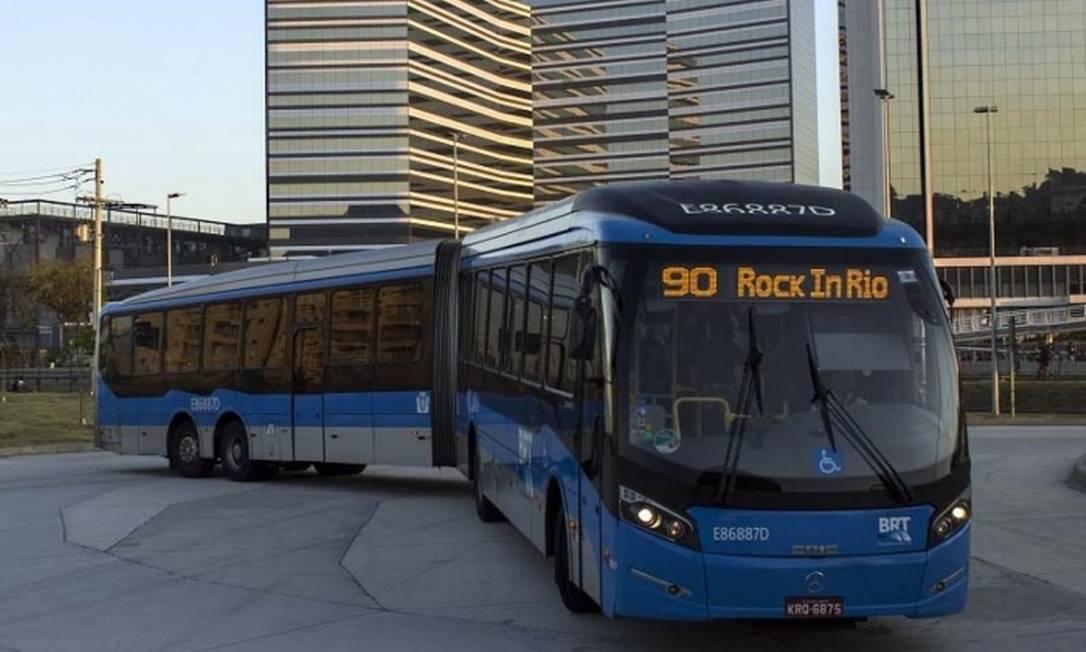 Tarifa será de R$ 11,75, três vezes mais cara que o normal, na volta pra casa Foto: Divulgação/BRT
